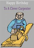 Carpenter - Greeting Card